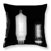 Vacuum Tube Throw Pillow
