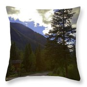 Vail Road Throw Pillow