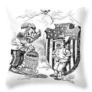 Venezuela Dispute, 1902 Throw Pillow