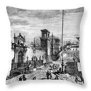 Venice: Arsenale Throw Pillow
