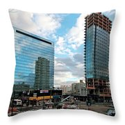 View Interrupted Throw Pillow
