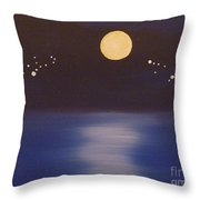 Virgo And Capricorn Throw Pillow