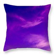 Vivid Sky Throw Pillow