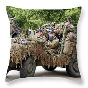 Vw Iltis Jeeps Used By Scout Or Recce Throw Pillow