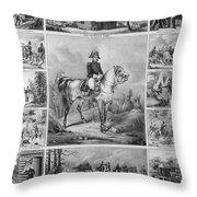 W. H. Harrison (1773-1841) Throw Pillow