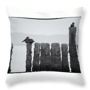 Waiting For Sunday Throw Pillow