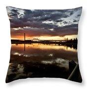 Wakamaw Valley Sunrise Throw Pillow