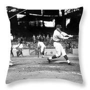 Walter Perry Johnson Throw Pillow