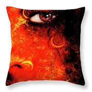 Watchful Spirit Throw Pillow