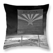 Welcome Sign Throw Pillow by David Lee Thompson