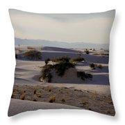 White Sands 1 Throw Pillow