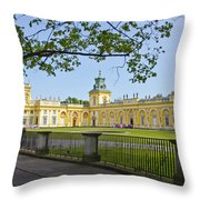 Wilanow Palace - Warsaw Throw Pillow