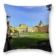 Wilanow Palace - Warsaw Poland Throw Pillow
