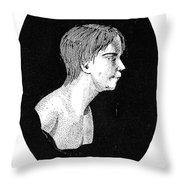 Wild Boy Of Aveyron Throw Pillow