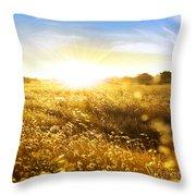 Wild Spikes Throw Pillow