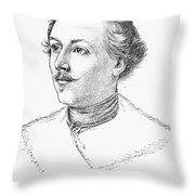 Wilhelm Mueller (1794-1827) Throw Pillow