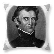 William Beaumont, American Surgeon Throw Pillow