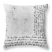 William Blake (1757-1827) Throw Pillow