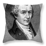 William Bradford Throw Pillow