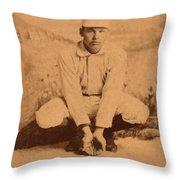 William Ellsworth Hoy Throw Pillow