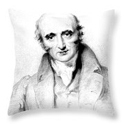 William Hyde Wollaston, English Chemist Throw Pillow