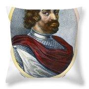 William II (1056-1100) Throw Pillow