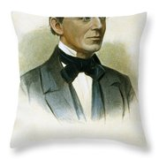 William Lloyd Garrison Throw Pillow
