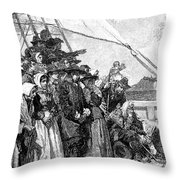 William Penn (1644-1718) Throw Pillow