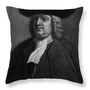 William Penn, Founder Of Pennsylvania Throw Pillow