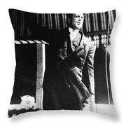 William Randolph Hearst Throw Pillow