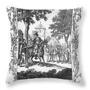 William Tell Throw Pillow