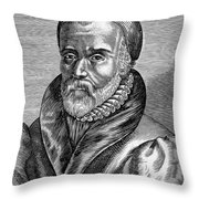 William Tyndale Throw Pillow by Granger