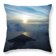 Wizard Sunrise Throw Pillow