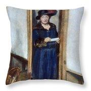 Woman: Voting, 1920 Throw Pillow