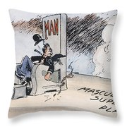 Womens Rights, 1920 Throw Pillow