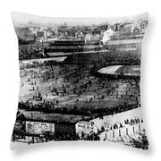 World Series, 1903 Throw Pillow