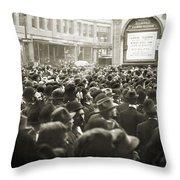 World Series, 1911 Throw Pillow