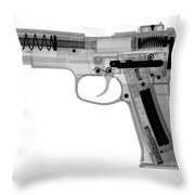 X-ray Of An Air Gun Throw Pillow