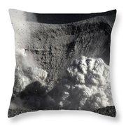 Yasur Eruption, Tanna Island, Vanuatu Throw Pillow