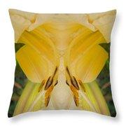 Yellow Fantasy Throw Pillow