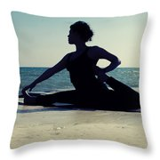 Yoga Throw Pillow