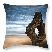 Yorkshire Coast Throw Pillow