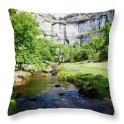Yorkshire Dales National Park Throw Pillow