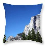 Yosemite Half Dome Throw Pillow