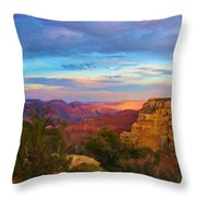 You Draw Me In Throw Pillow by Heidi Smith