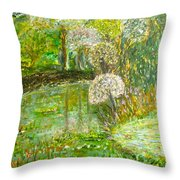 You Lush Throw Pillow