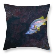 Young Woman Working In The Emergency Throw Pillow by Terry Moore