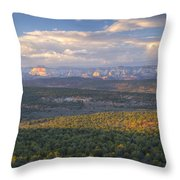 Zion Distant Throw Pillow