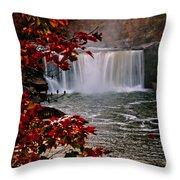 Cumberland Falls Ky Throw Pillow