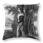 George Gordon Byron Throw Pillow